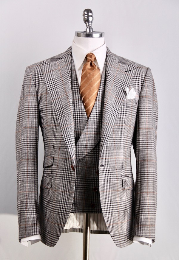 Anzug Glencheck